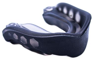 Капа для бокса гелевая двухкомпонентная 2Life Черный (n-520)