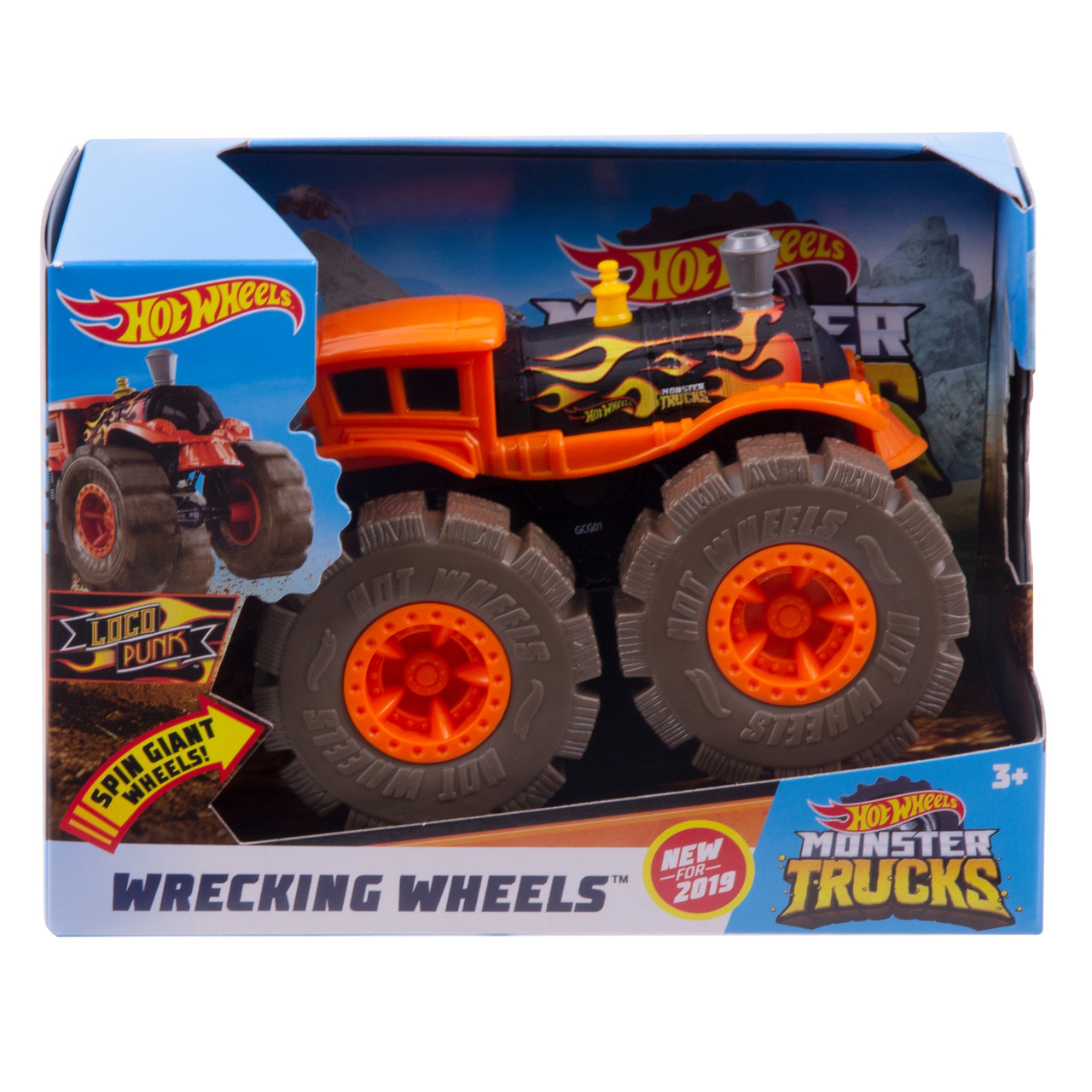 Хот Вилс Монстер Трак LOCO PUNK, Hot Wheels Monster Truck, Mattel (GCG02)