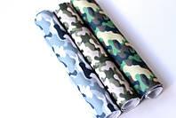 Набор корейского мягкого фетра Pugovichok Камуфляж 3 цвета hubhePF20749, КОД: 128679
