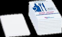 Блок бумага для записей Brunnen 7.5 х 14 см с чистыми листами 50 листов 10 пачек 8655650, КОД: 1931287