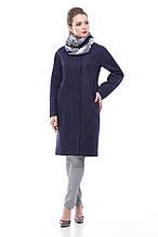 Женское пальто ORIGA Лукреция 42 Темно-синий 02LKRC-тм-син42, КОД: 2374977