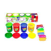 Набор креативного творчества Пальчиковые краски + тесто для лепки TOY-51975, КОД: 1355542