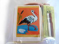 Набор Универсал для «ковровой вышивки» 2 иглы «Аист» Разноцветный 33, КОД: 1747457