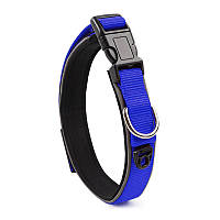 Ошейник двухслойный для собак Taotaopets 181-2019 L Blue 5536-18179, КОД: 2404428