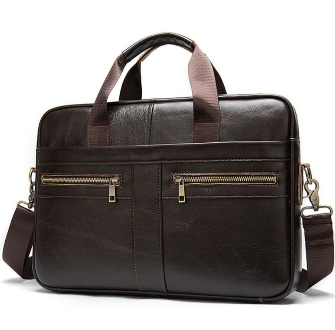 Мужская сумка мессенджер кожа