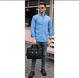 Мужская сумка мессенджер кожа, фото 6