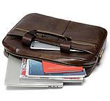 Мужская сумка мессенджер кожа, фото 7