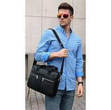 Мужская сумка мессенджер кожа, фото 9