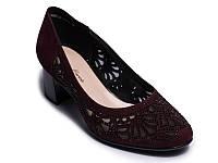Туфли LEDY MARCIA S369-24-R264AK 38 Бордовые, КОД: 955805