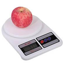 Весы кухонные ВІТЕК SF-400 7 кг 1 г Белые 101055-2, КОД: 1891308