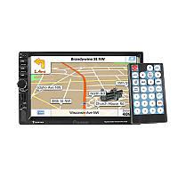 """Автомагнитола Pioneer 7021G с навигатором GPS 2DIN 7"""" сенсорный экран USB/TF/AUX для автомобиля"""