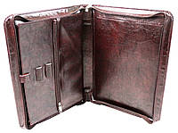 Папка деловая из искусственной кожи Exclusive Коричневый 710200 brown, КОД: 1522765