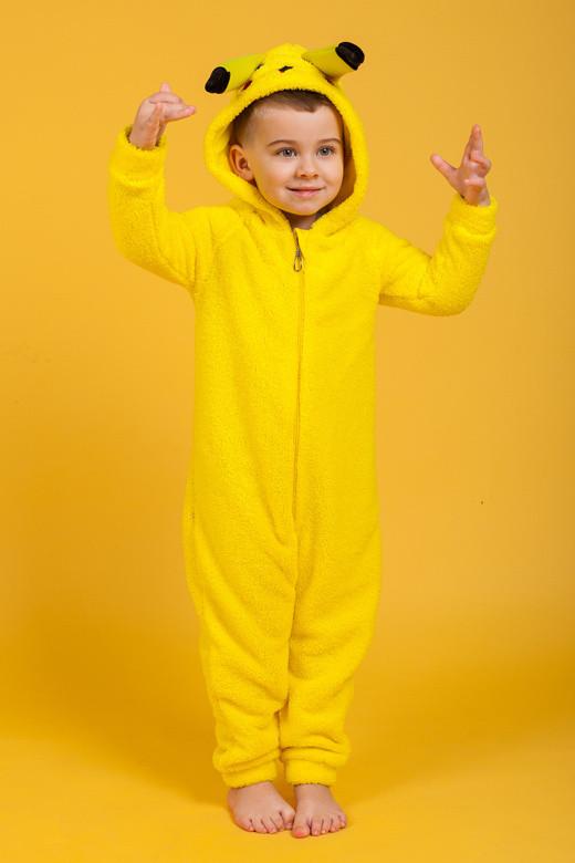 Детский комбинезон-кигуруми «Пикачу»