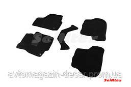"""Коврики текстиль Skoda Octavia (A5)/VW Golf V/VI/Jetta 2014- черные  """"Seintex"""""""