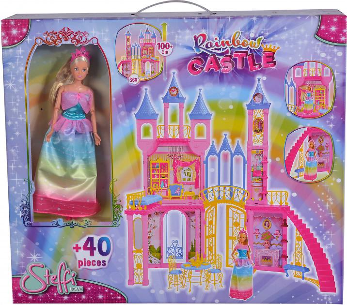 Кукла Штеффи Радужный замок Steffi Love Simba 5733467