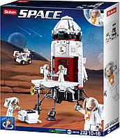 """Конструктор Space Sluban M38-B0738 """"Космическая исследовательская база"""", 733 дет, фото 1"""