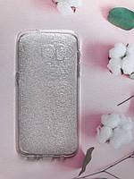 Ультратонкий прозрачный силиконовый чехол Ultra clear для Samsung Galaxy S7 11479, КОД: 1891298