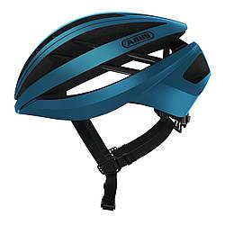 Шолом велосипедний ABUS AVENTOR S Steel Blue 776304, КОД: 1057827