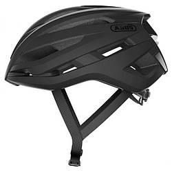 Шолом велосипедний ABUS STORMCHASER S 51-55 Velvet Black 870002, КОД: 1913675