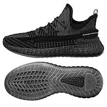 Чоловічі кросівки Wonex 43 Black-Grey 2082343, КОД: 1781237