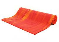 Коврик для йоги Bodhi Ganges 183 x 60 x 0.6 см Оранжевый 000000224, КОД: 201153