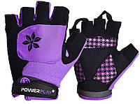 Велорукавички PowerPlay 5284 S Фіолетові 5284SPurple, КОД: 1138605