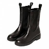 Сапоги Paranova shoes Chelsea Fur 36 Черные 10001936, КОД: 1809785