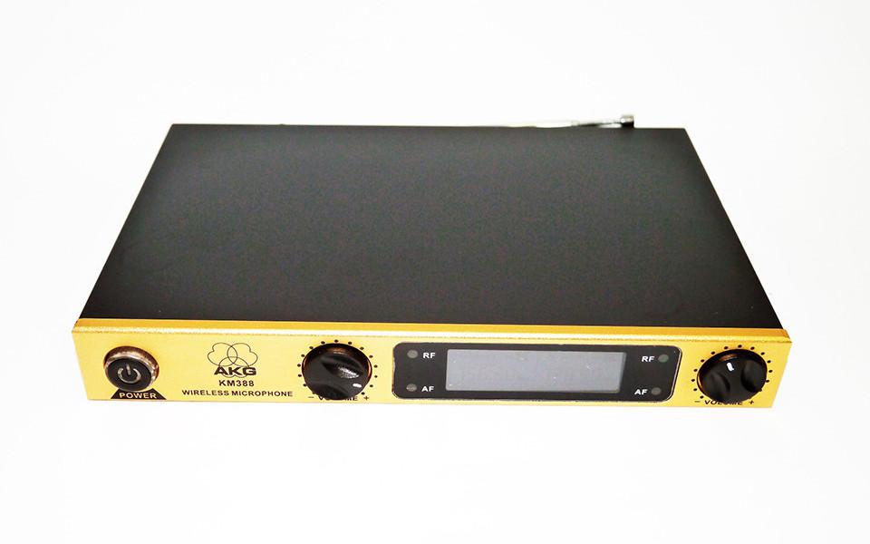 Радиосистема AKG KM388 база 2 радиомикрофона Черный (3sm_00157)