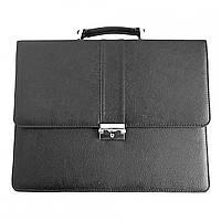 Портфель для документов Дорожка 29х37х7 см Black 7287, КОД: 1890065