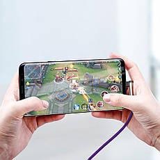 Кабель USB Type-C Baseus MVP Mobile game с угловым коннектором CATMVP-D03 1 м Фиолетовый (651185097), фото 3