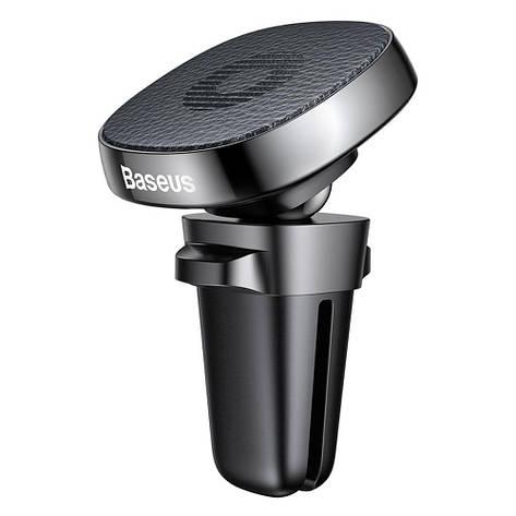 Магнитный автодержатель для мобильных устройств Baseus Privity Series Pro SUMQ-PR01 Черный (5796452341), фото 2