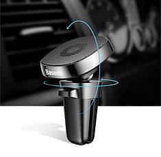 Магнитный автодержатель для мобильных устройств Baseus Privity Series Pro SUMQ-PR01 Черный (5796452341), фото 3