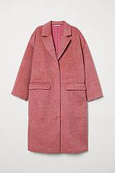 Пальто HM 6840808 34 Темно-розовый 2030000019281, КОД: 2316492