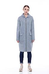 Женское пальто ORIGA Аллегра 46 Серо-голубой, КОД: 2371971