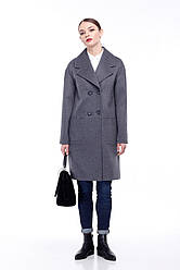 Женское пальто ORIGA Орсола 48 Серо-синий 02Orsola2-сер-син48, КОД: 2377977