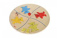 Настольная игра goki Веселые мишки 56941G, КОД: 2440654
