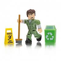 Игровая коллекционная фигурка Jazwares Roblox Сore Figures Welcome to Bloxburg Glen the Janitor W, КОД: