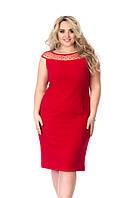 Платье Tasa 1198 58 Красное, КОД: 723008