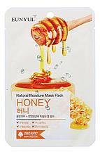 Увлажняющая тканевая маска для лица с медом Eunyul Natural Moisture Mask Pack Honey 25 мл 8809435, КОД: