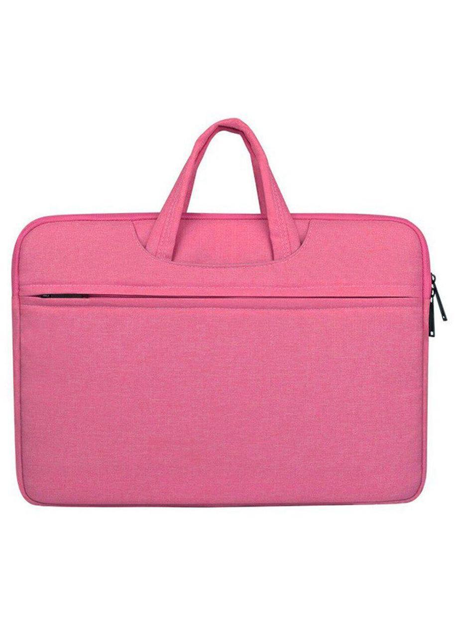 Тканевый чехол-сумка для MacBook 15 ARM защитный с ручками Pink