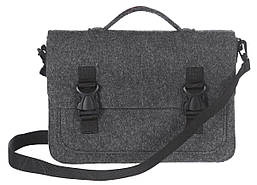 Фетровый чехол-сумка Gmakin для MacBook Air/Pro 13.3 с ручками Черный (GS17), фото 2