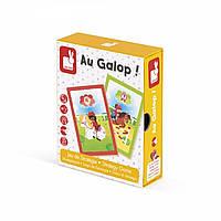 Настольная игра Janod Галоп J02804, КОД: 2438857