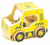 Игрушки из дерева Мир деревянных игрушек Конструктор из дерева Такси Д427, КОД: 2436398