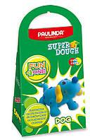 Масса для лепки Paulinda Super Dough Fun4one Собака подвижные глаза PL-1562, КОД: 2445670