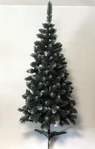 Штучна ялинка SUNROZ Європейська королева 2,2м Зелена з білим напиленням 5972, КОД: 2403953