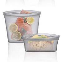 Набор 3 пакет-контейнеры для хранения готовки переноса еды hubEKOv26834, КОД: 1575535