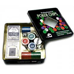 Покерный набор Viktoria trading 2 колоды карт,100 фишек 43433, КОД: 1366567