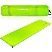 Самонадувной коврик Spokey Fatty Зеленый, КОД: 2403999