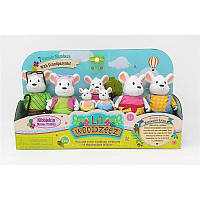 Набор игровых фигурок Lil Woodzeez Большая Семья Мышей 6491Z, КОД: 2430065