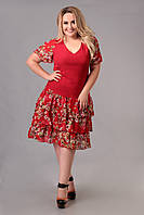Платье Tasa 1171 58 Красное, КОД: 722575